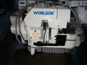 Wd-747D Direct drive 4 Thread Overlock Industrial Sewing Machine Good Price pictures & photos