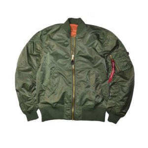 Padded Vintage Military Flight Jackets Softshell Nylon Men Pilot Jackets pictures & photos