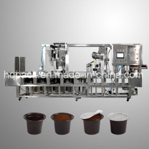 Cup Filling and Sealing Machine for Coffee Capsule