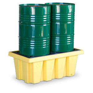 Westco Two Drum Containment Pallet