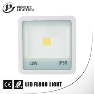 Sanan Chip High Lumen 70-80lm/W White Reflector COB Floodlight Fixture pictures & photos
