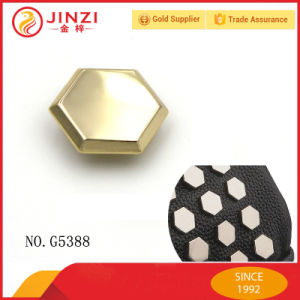 Hexagon Flat Head Pop Metal Rivet for Leather Bags pictures & photos