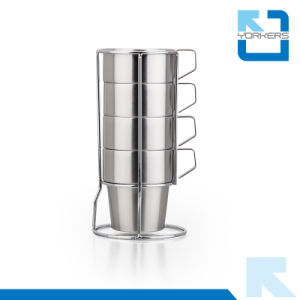 Hot Sale Stainless Steel Tea Cup Sets / Ice Cream Cup pictures & photos