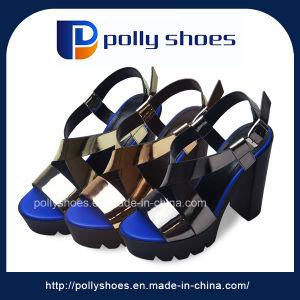 626a25dbb44cd0 China Fashion Wholesale Ladies High Heel Fancy Sandals - China Fancy ...