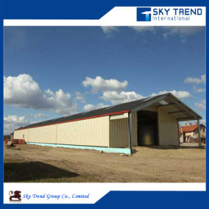 Steel Fabrication Workshop Layout Pig Farm Construction pictures & photos