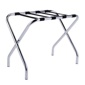 Strong and Durable Hotel Metal Luggage Rack with Backrest pictures & photos
