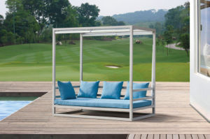 Outdoor Furniture Aul Rattan Daybed pictures & photos