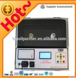 ASTM D1816 Insulating Oil Dielectric Strength Analyzer (DYT-80) pictures & photos