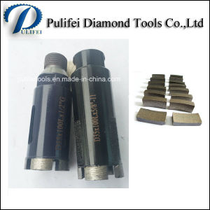 Concrete Drilling Masonry Diamond Drill Bit Segment for Drilling