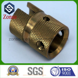 Small Quantity Precision Milled CNC Machined Brass Parts
