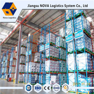 Blue Frame and Orange Beam Pallet Racking with Ce Certificated pictures & photos