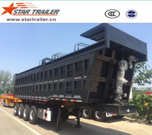 4 Axles Self-Dumping Tipper Semi-Trailer pictures & photos