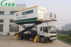 Aircraft Aviation Airport Catering Truck with Refrigerated Box pictures & photos