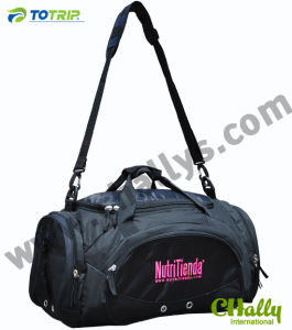 Body Building Sports Duffel Bags with Shoes Compartment