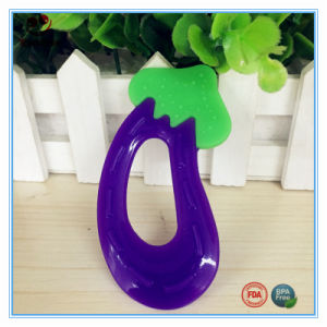 Dummy Eggplant Teething Toys for Baby pictures & photos