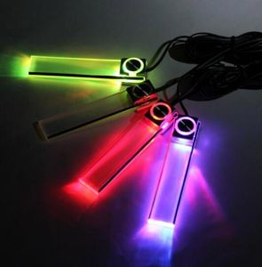 Car Accessories LED Car Atmosphere Light Car Decoration 12V LED Foot Light pictures & photos