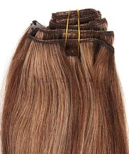100% Human Remy & Virgin Cuticle Hair / Clip in Hair Extension