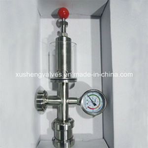 Dn25 Sanitary Pressure Relief Valves with Union Type Check Valve pictures & photos