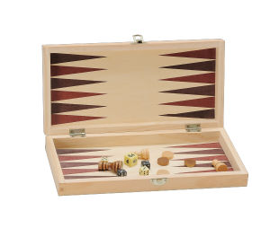 Wooden Chess and Backgammon Game (CB1070) pictures & photos