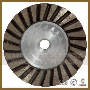 Single Row Cup Wheel, Diamond Turbo Grinding Cup Wheel pictures & photos