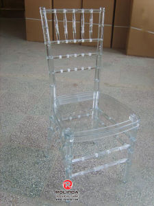 Crystal Clear Wedding Chair Plastic Resin Chairs pictures & photos