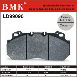 Durable Truck Brake Pads (LD99090) pictures & photos