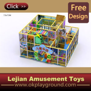 Lovely Cartoon Soft Play Area Children Indoor Playground (T1260-10) pictures & photos
