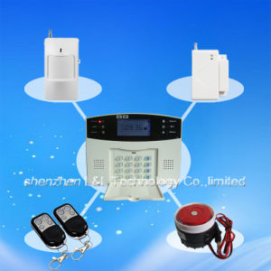 Excellent Voice LCD Security Burglar Intruder Home Alarm, Alarm System (L&L-819)