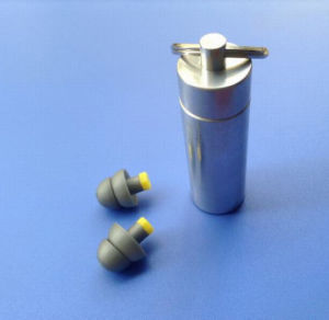 DJ Earplugs in Metal Tube pictures & photos