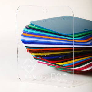 One-Side Transparent Matte Cast Acrylic Sheet (000P) pictures & photos