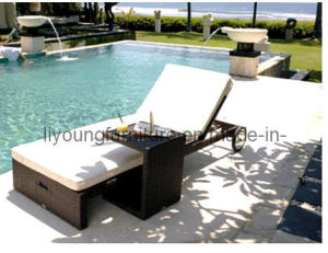 Poolside Beach Wicher Sun Lounge (LG12-1208)
