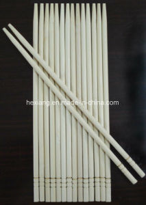 Ecofriendly Disposable Stocked Individual Round Bamboo Chopsticks pictures & photos