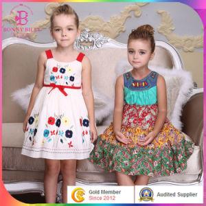 3327d04f9 China Embroider Flower Children Baby Cotton Frocks Design in Kids ...