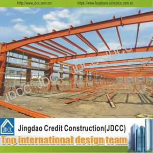 Light Steel Structure Frame Building with Rust Paint pictures & photos
