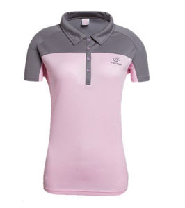 Best Sale Breathable Dry Fit Mixed Colors Embroidered Women′s Polo Shirt