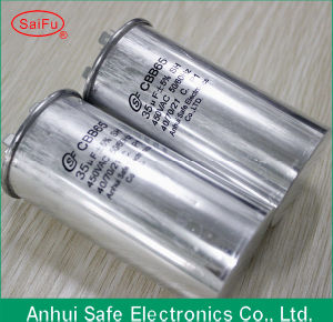 Cbb65 Capacitor 25UF 450VAC pictures & photos