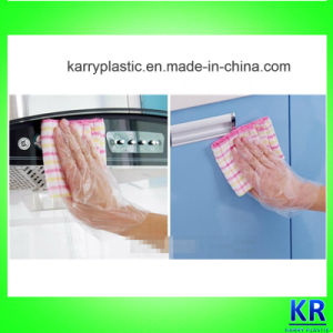 Disposable PE Material Gloves pictures & photos