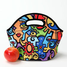 Neoprene Picnic Tote Bag Lunch Bag (QK- L-0143) pictures & photos