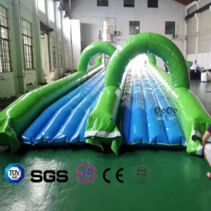 Coco Water Design Inflatable Water Slide for Water Game LG8093