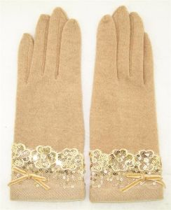 Lady Fashion Wool Gloves (JYG-25050) pictures & photos