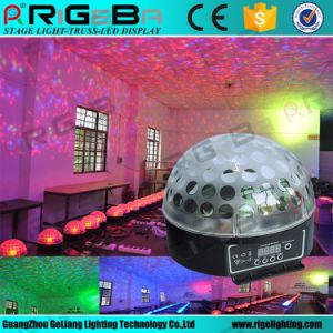 Crystal Effect Light Stage Lighting RGB DJ Club Disco KTV Party LED Magic Ball pictures & photos