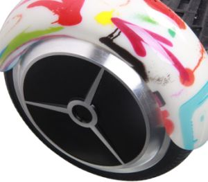 2017 New Fashion 2 Wheel Self Balancing Intelligent Electric Scooter with Water Transfer Printing Color pictures & photos