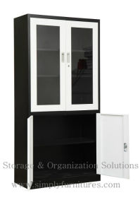 Metal File Cabient with Adjustable Shelf (SPL-SWG02) pictures & photos