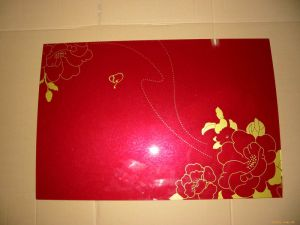 Silk Printing Toughened/Tempered Glass