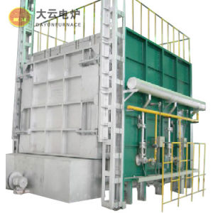 Full-Fabric Trolley Gas-Fired Heat Treatment Furnace