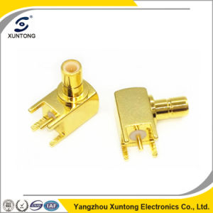 High Quality Right Angle SMB Female to PCB Mount Connector pictures & photos