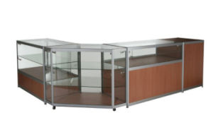 China Counter Display Cabinet Kdca Combination 2 Jewelry