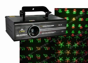 New Moving Head Animation Grating Laser Light (AG-03RGY)