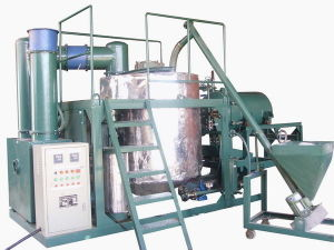 Used Black Engine Oil Recycling Machine