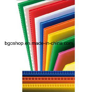 Roll up Colorful PP Sheet (Correx sheet) pictures & photos